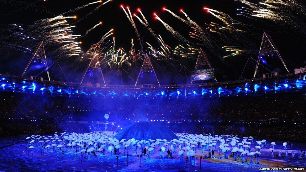 Inauguración de los Juegos Paralímpicos