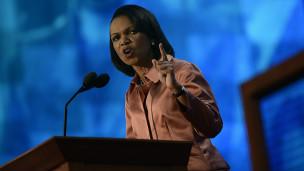 Cựu Ngoại trưởng Condoleezza Rice phát biểu