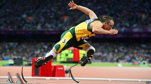 Oscar Pistorius, corredor