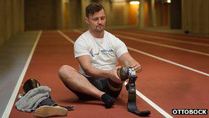 Popow, atleta discapacitado