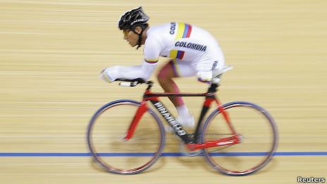 Álvaro Galvis, ciclista paralímpico de Colombia