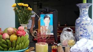 Nạn nhân Nguyễn Mậu Thuận