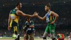 Pistorius y Oliveira