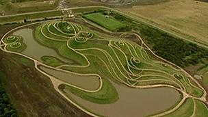 Vistas aéreas da 'Dama do Norte' são as melhores (BBC)