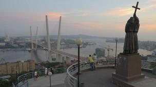 Vladivostock với cây cầu mới trị giá 1 tỷ đô la