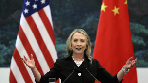 Hilary Clinton en China