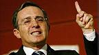 Álvaro Uribe, expresidente de Colombia y actual senador de la República