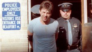 Kosilek, quando foi preso em 1990, ainda com a identidade masculina