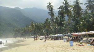 Playa venezolana