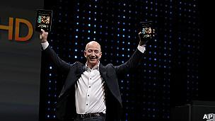 Jeff Bezos, presidente de Amazon