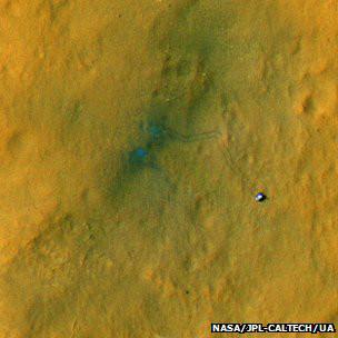 Fotos realizadas pelo Equipamento Orbital de Reconhecimento de Marte