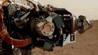 O braço mecânico da Curiosity (Nasa)
