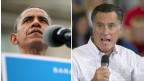 Shugaban Amurka Barak Obama da Mitt Romney