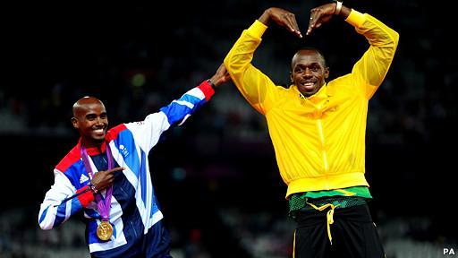 Usain y Bolt