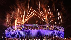 Ceremonia de clausura de los Paralímpicos