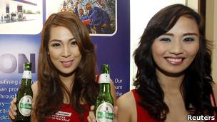 Cerveja asiática | Crédito da foto: Reuters