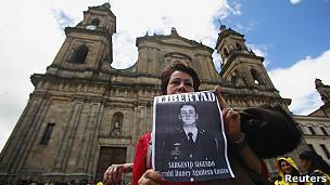 Protesta por los desaprecidos de las FARC