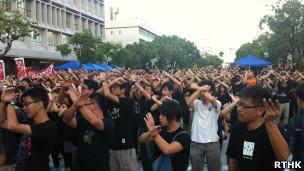 香港学生罢课
