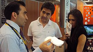 El Dr. Alejandro Vargas en el V Salón de Inventores e Innovadores de Medellín. Foto: cortesía Alejandro Vargas