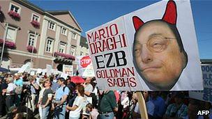 protesta en Alemania