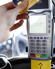 Pago con tarjeta de débito