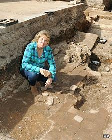 Arqueólogos de la Universidad de Leicester
