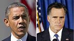 Shugaban Amurka Barack Obama da abokin karawarsa Mitt Romney