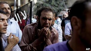 Protestas en consulado de EE.UU. en El Cairo