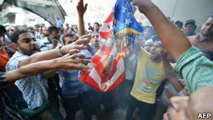 काहिरा में विरोध प्रदर्शन
