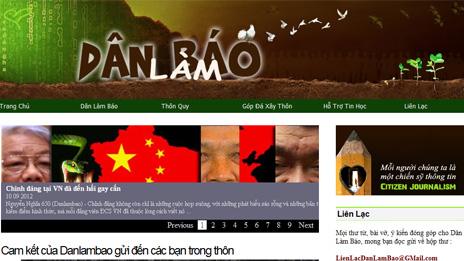 Trang web Dân làm báo