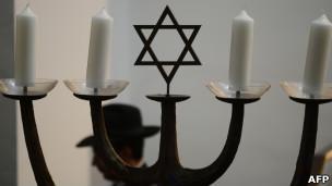 Cerimônia em Sinagoga (Foto: AFP/Getty Images)