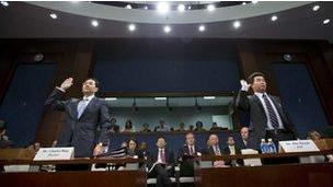 Các lãnh đạo Hoa Vị và ZTE ra điều trần trước Quốc hội Mỹ