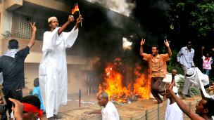 Protes di Sudan