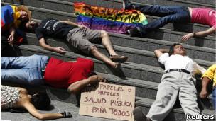 Protesta contra los recortes