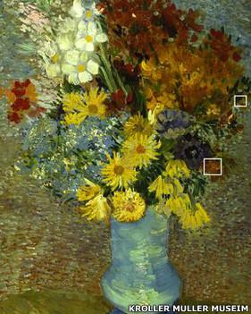 """""""زهور في مزهرية زرقاء"""""""