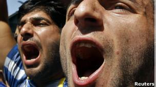 Protestos | Foto: Reuters
