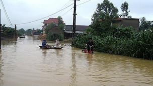 Lũ lụt tại tỉnh Nghệ An