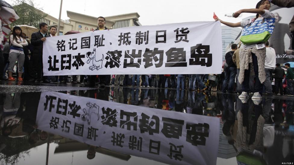En Fotos Arrecian Las Protestas Contra Jap 243 N En China