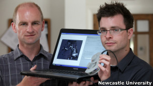 Jeff Neasham e Dave Graham | Foto: Newcastle University