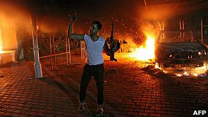 Lãnh sự quán Mỹ tại Benghazi, Libya, bị tấn công