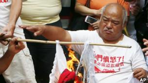 香港保钓人士曾健成