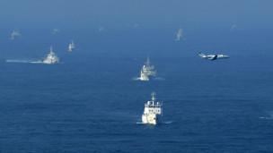 Tàu tuần duyên Nhật Bản đụng độ tàu hải giám Trung Quốc gần đảo tranh chấp