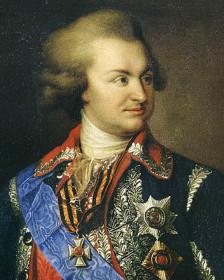 Григорий Потемкин (портрет неизвестного автора)