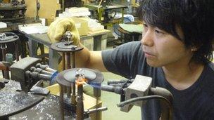 Trabajador de Hosobuchi