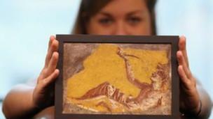قطعة أثرية في المتحف البريطاني