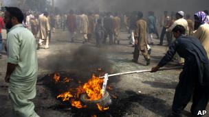 Zanga zanga a Pakistan