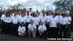 Equipo de Hybrid air vehicles
