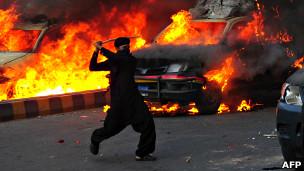 Protes film di Pakistan