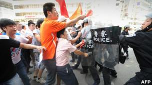 深圳市民抗议