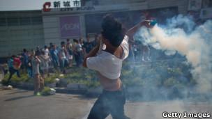 深圳反日示威